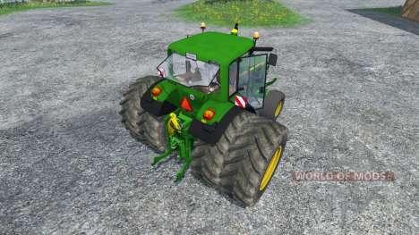 John Deere 6130 2WD v2.0 for Farming Simulator 2015