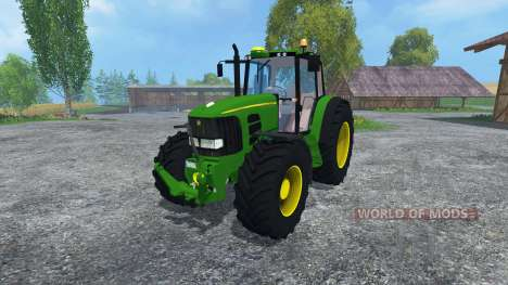John Deere 6920 S for Farming Simulator 2015