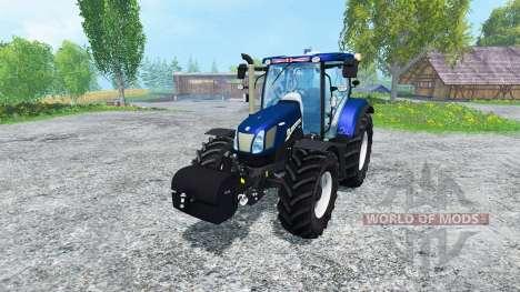 New Holland T6.160 Golden Jubilee for Farming Simulator 2015