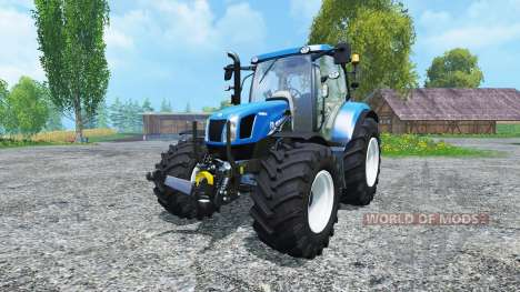 New Holland T6.160 BluePower for Farming Simulator 2015