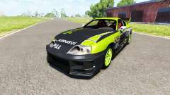 Toyota Supra Drift 1995 for BeamNG Drive