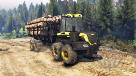 PONSSE Buffalo 8x8 AT for Spin Tires