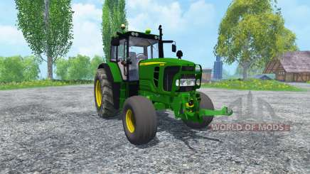 John Deere 6130 2WD v2.0 for Farming Simulator 2015