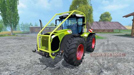 CLAAS Xerion 5000 Arceau Forestierf for Farming Simulator 2015