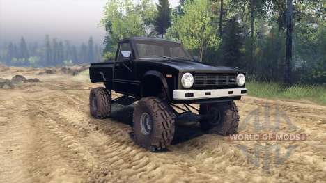 Toyota Hilux Truggy 1981 v1.1 black for Spin Tires