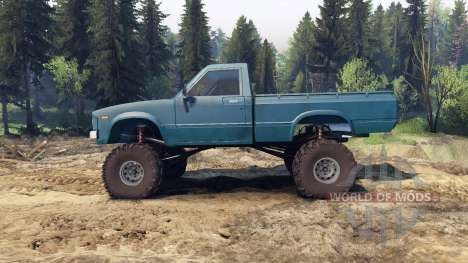 Toyota Hilux Truggy 1981 v1.1 blue for Spin Tires