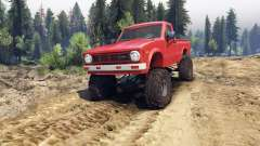 Toyota Hilux Truggy 1981 v1.1 red for Spin Tires