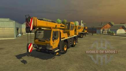 Liebherr LTM 1030 for Farming Simulator 2013