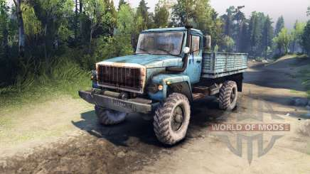 GAZ-33081 for Spin Tires