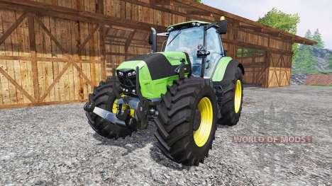 Deutz-Fahr Agrotron 7250 FL for Farming Simulator 2015