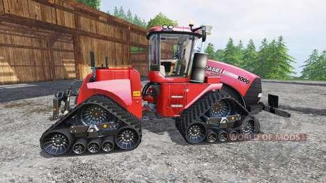 Case IH Quadtrac 1000 Red Baron Speed for Farming Simulator 2015
