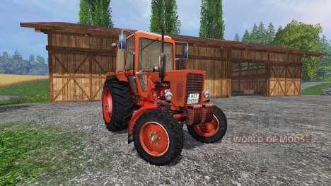 MTZ 80 Belarus v3.1 for Farming Simulator 2015