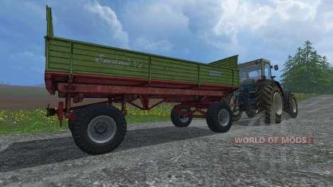 Krone Emsland ROS for Farming Simulator 2015