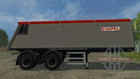 Stapel Mulde for Farming Simulator 2015