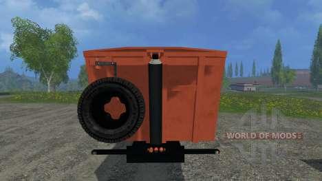 MAZ 953000-011 for Farming Simulator 2015