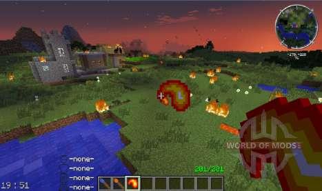 Fire Flower for Minecraft