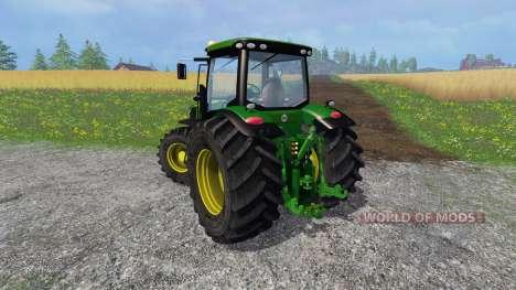 John Deere 7310R v2.0 for Farming Simulator 2015