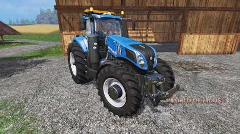 New Holland T8.320 600EVO v1.3 for Farming Simulator 2015