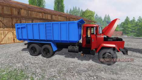 KrAZ-6130 C4 for Farming Simulator 2015