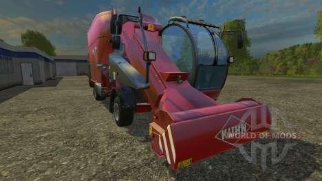 Kuhn SPW 25 for Farming Simulator 2015