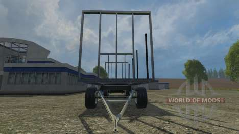 Palettenanhaenger for Farming Simulator 2015