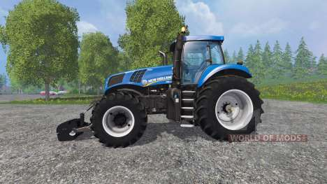 New Holland T8.435 with Weight for Farming Simulator 2015