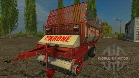 Krone Turbo 2500 for Farming Simulator 2015