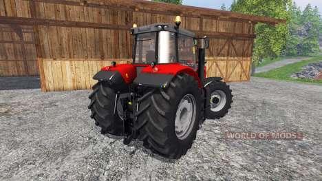 Massey Ferguson 7622 v2.0 for Farming Simulator 2015