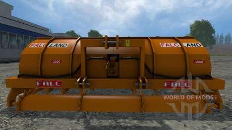 Rotoaratro Falc for Farming Simulator 2015
