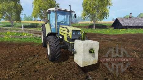 Concrete counterweight 500 kg. for Farming Simulator 2015
