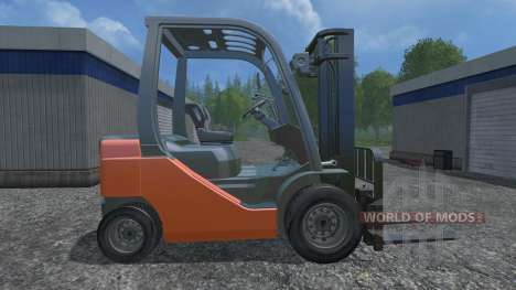 Toyota 62-8FD18 for Farming Simulator 2015