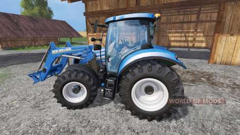 New Holland T6.175 for Farming Simulator 2015