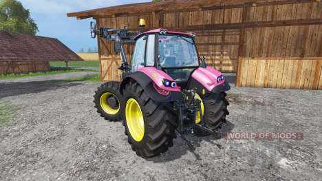 Deutz-Fahr Agrotron 7250 FL pink color for Farming Simulator 2015