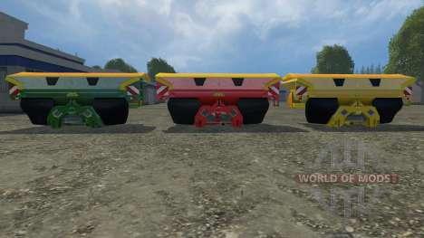 Set Amazone Zam 1501 for Farming Simulator 2015