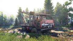 KamAZ Mongo [Final] for Spin Tires