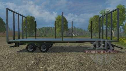 Palettenanhaenger for Farming Simulator 2015