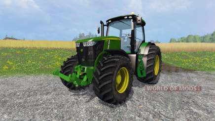 John Deere 7310R v2.0 for Farming Simulator 2015