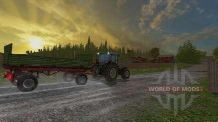 Krone Emsland ROS for Farming Simulator 2015