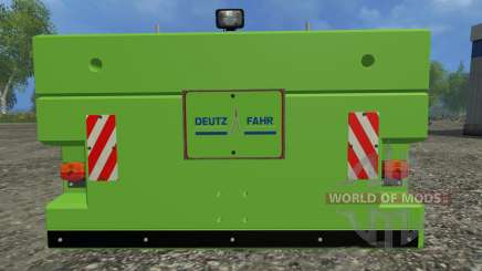 Suer SB 1000 for Farming Simulator 2015