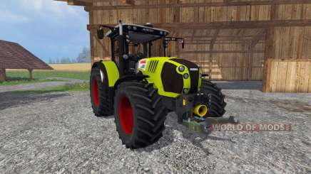 CLAAS Arion 650 v2.0 for Farming Simulator 2015