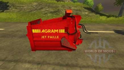 Pailleuse Agram Jet de paille for Farming Simulator 2013