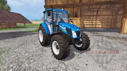 New Holland T4.115 matt Farbe for Farming Simulator 2015