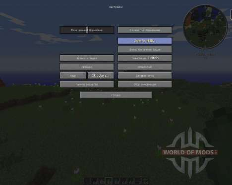 Zyins HUD for Minecraft