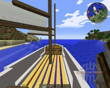 Small Boats for Minecraft