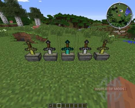 Sword Pedestal for Minecraft