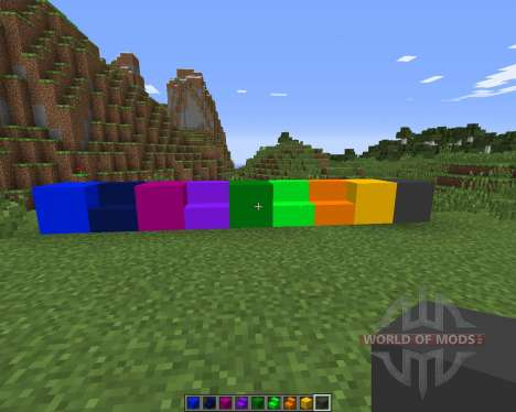 Color Blocks for Minecraft