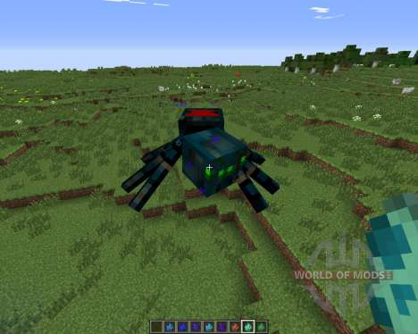 Much More Spiders for Minecraft