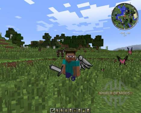 Cosmetic Wings for Minecraft