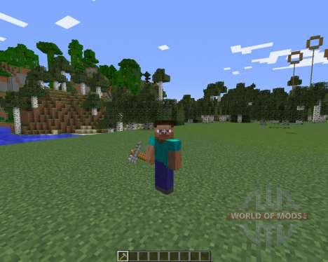 Whole Tree Axe for Minecraft