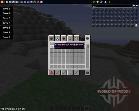 Plant Growth Accelerator for Minecraft